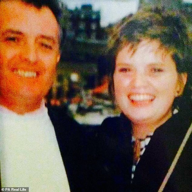 She had turned to work offshore while reeling from the sudden death of her fatherArthur Coakley, who died in June 2009 aged 61. He died on board an Air France jet that plunged into the Atlantic