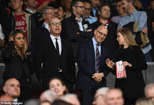 Avram Glazer (second left) is said to have been spending a lot of time in Saudi Arabia recently