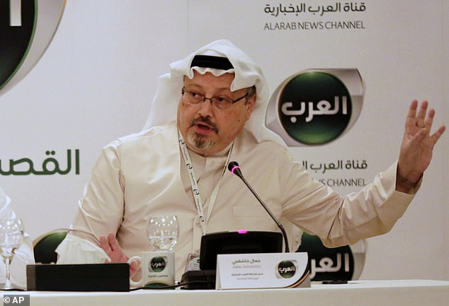 Missing journalist Jamal Khashoggi, pictured in Bahrain in 2014, may have been murdered after criticizing the Saudi government