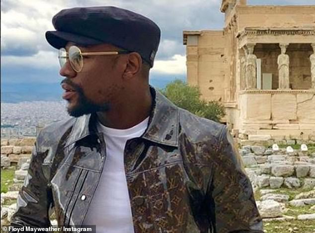Mayweather travels the world and works with his businesses having retired from boxing