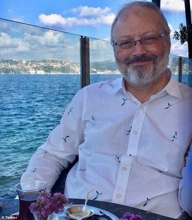 Still a mystery: JamalKhashoggi has been missing for two weeks, and Turkish investigators are now looking into 'toxic materials' at the Saudi consulate where he was last seen