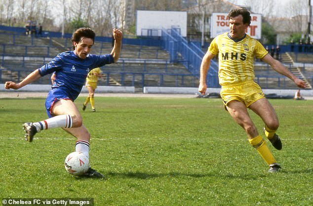 The former Chelsea winger was renowned for his dribbling ability during his career