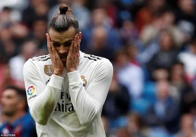 Bale was brought on in the second half but the winger was unable to inspire Real Madrid to victory