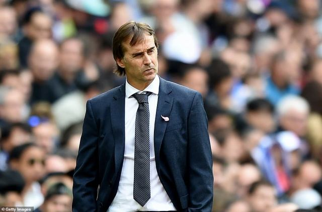 Lopetegui has endured much frustration since being appointed as Real manager and faces an uncertain future