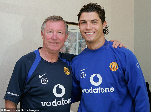 The pair are good friends after spending six years together at United from 2003 to 2009