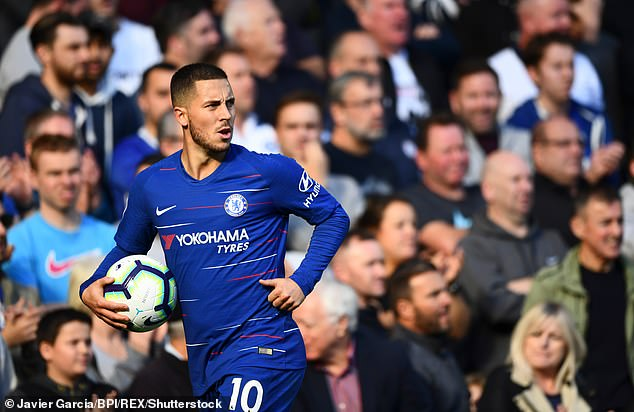 Eden Hazard was suspended on Thursday night against Chelsea against BATE Borisov