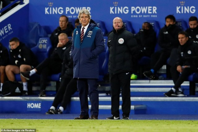 With a man less, Manuel Pellegrini shuffled his pack to quell the danger from the hosts and they continued to hold their own