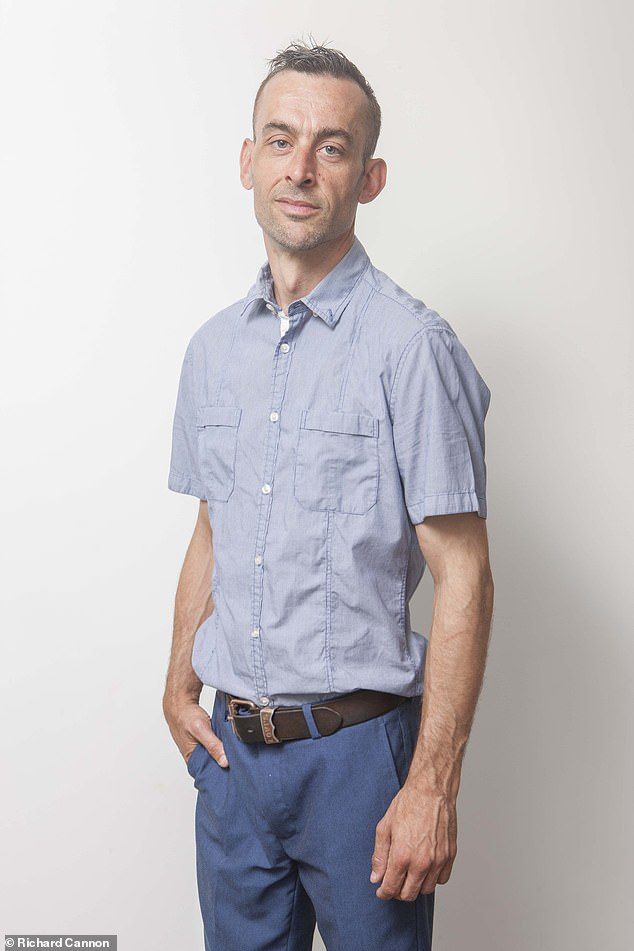 Hormones: John Browne, 39, from London, often woke up when his bed was wet with sweat