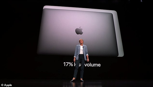 It also offers 24/7 battery life - 12 hours of wireless Internet surfing and up to 13 hours of iTunes movie playback - a new measure from Apple