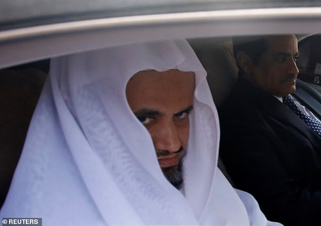 Not playing ball: Saudi Attorney General Sheikh Saud al-Mojeb arrived in Turkey on Sunday, but meetings with his Turkish counterpart haveyielded no 'concrete results' despite 'good-willed efforts' by Turkey to uncover the truth, the Turkish chief prosecutor's office said