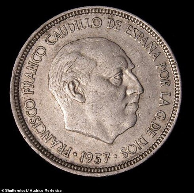 Spain says its central banks can still exchange old currencies (like this old 5-peseta coin), but this must happen before 2020.