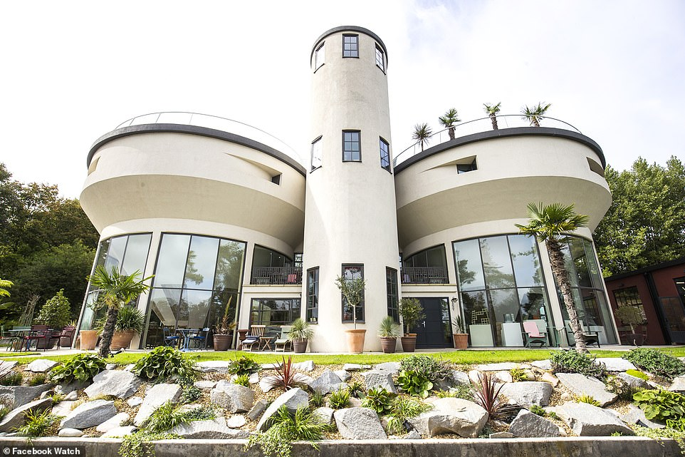 This 1930s grade II listed property called The Lime Works stars in the show. The property, located in Kent, is a residential home with six bedrooms