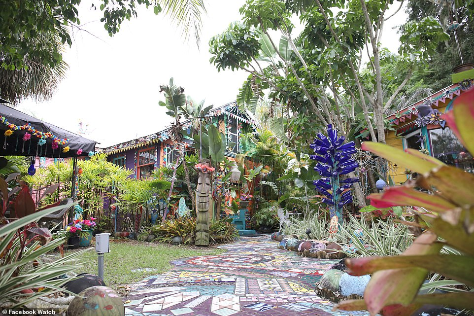 Florida's eye-popping Whimzey house is packed with art and homemade items