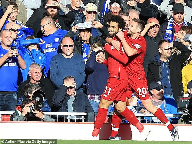 Liverpool is in good spirits and Klopp confirmed that there is no injury problem for Mo Salah