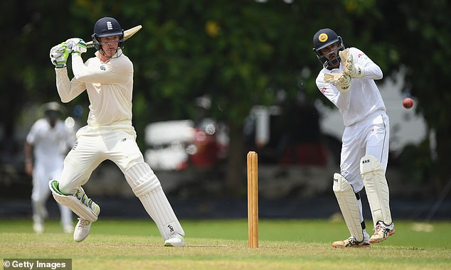 Keaton Jennings confirmed his place in the first test on Tuesday alongside Rory Burns