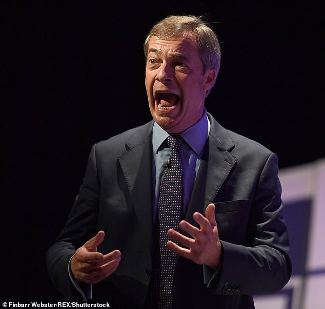 Could this be the year? Right wing politician Nigel Farage has been rumored to break the jungle for two years