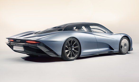 Futuristic: The super sports car built in Woking has cameras instead of mirrors