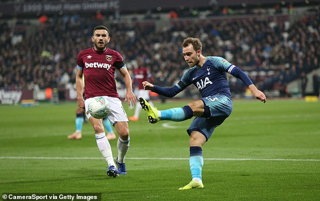 Tottenham hopes to tie midfielder Christian Eriksen to a new long-term contract