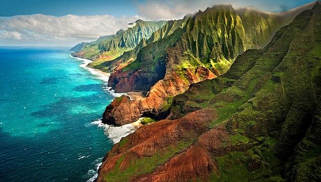 Mystic: The rugged coast of Napali on the north coast of Kauai