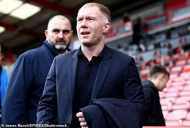 Scholes also criticized United for his slow start after his former side had fallen behind in the 11th minute