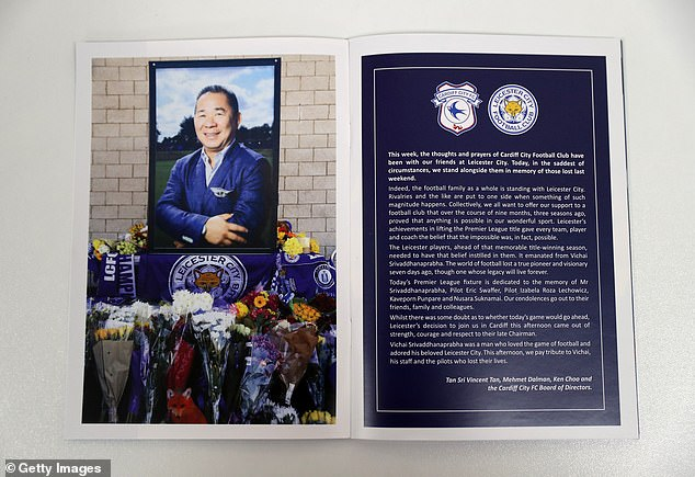 Members of the Cardiff Board commemorate Srivaddhanaprabha's life with a special tribute