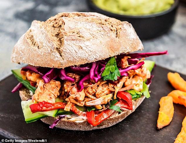 From a jackfruit pork sandwich to a jackfruit biryani, British celebrity chefs have added their menus (photo).