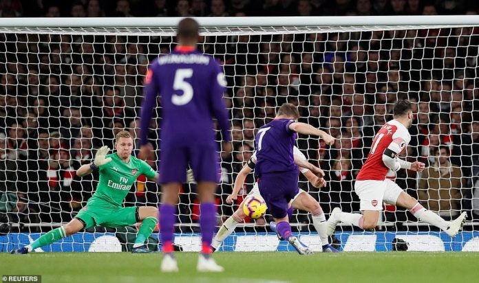Milner took the loose ball in the middle of the box to thunder his shot home and put Liverpool ahead in the second half