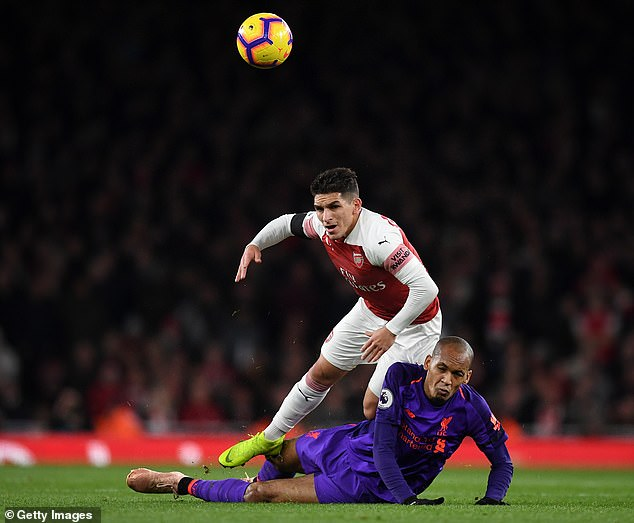 Fabinho's problems are not at work, but the pace of the game left him behind