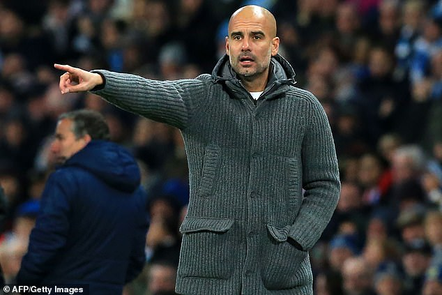 Guardiola has recently reduced the chances of the City to winning the Champions League