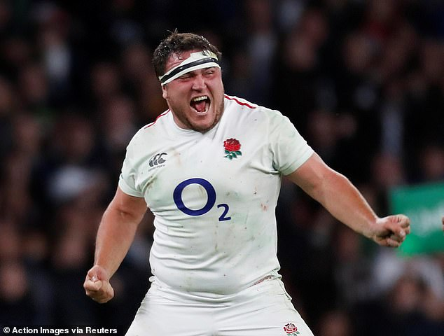Jamie George was a key England player on Saturday's 12-11 win over South Africa