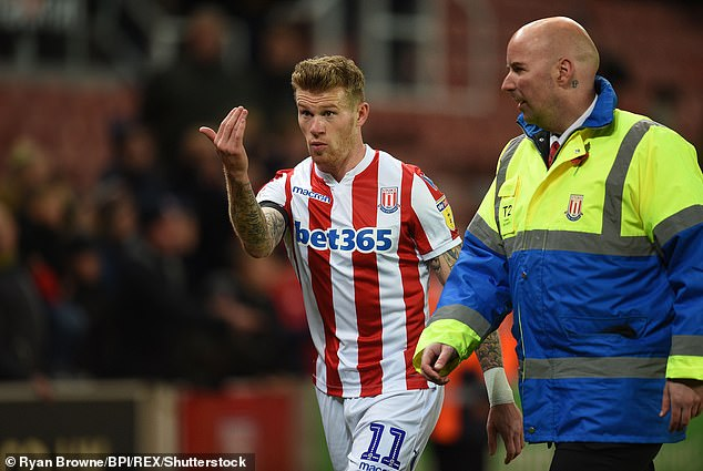 He will not wear a poppy in Stoke's next game, not in Nottingham Forest