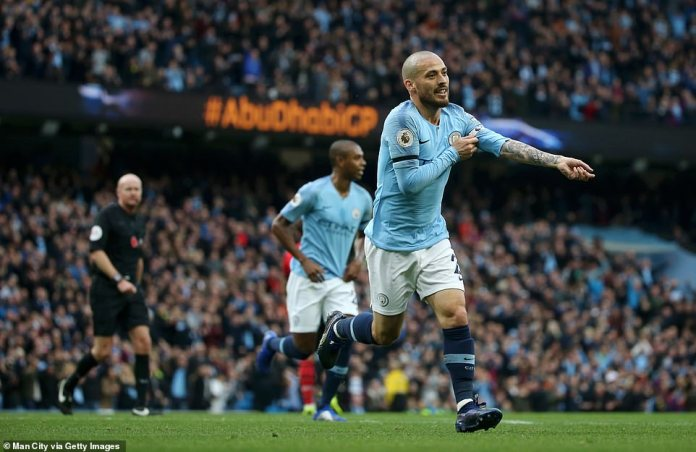 Silva, who captained the team, helped City to a comfortable win over Southampton