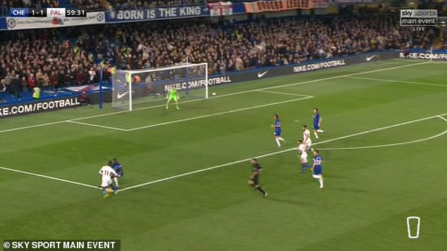 """The Ivorian winger has then successfully """"flip-flipped"""" ability to pass the defender"""