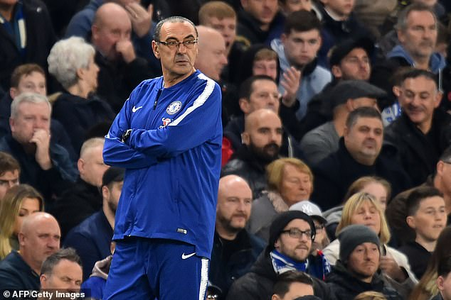 "Chef Maurizio Sarri, however, called on Morata to overcome the ""fragile"" mentality that worried him"
