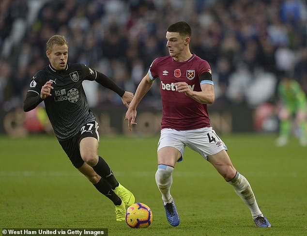 Rice has become an integral part of West Ham's midfield and can play games alone