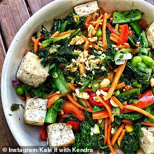 If you want to make your own buddha bowl (pictured) at home, CHOICE recommend you use microwavable brown rice or quinoa packets, buy pre-shredded packets of salad and keep roasted vegetables on hand in your fridge