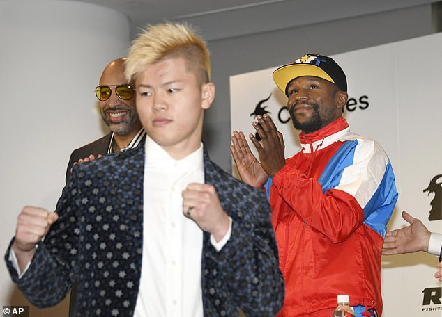 Nasukawa, 20, participates in MMA and Kickboxing and has won all four of his bouts