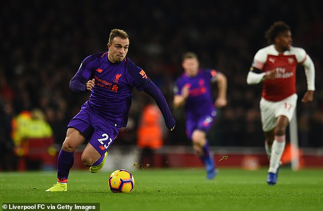 Shaqiri wanted to play the game in the Serbian capital, but made no decision