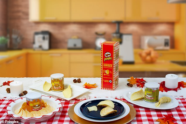 Eat up!Pringles sold three limited-edition Thanksgiving flavors for the holiday last year