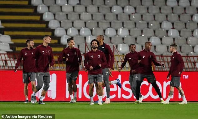 Liverpool was tested before the next Champions League draw in Belgrade