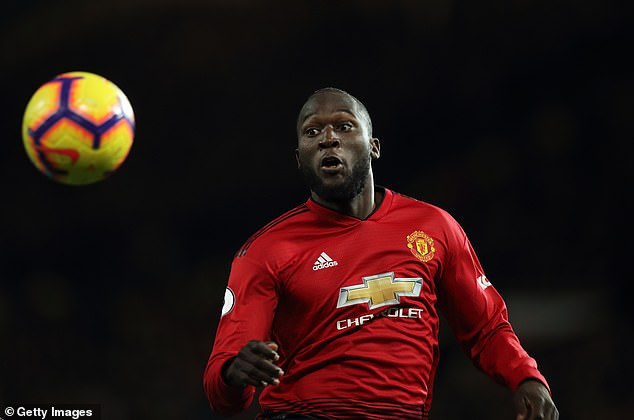 Romelu Lukaku could be fit for Manchester United on Sunday, but Fletcher would not start him