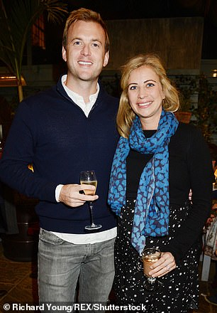 Great expectations: Holly Branson with husband Freddie Andrews