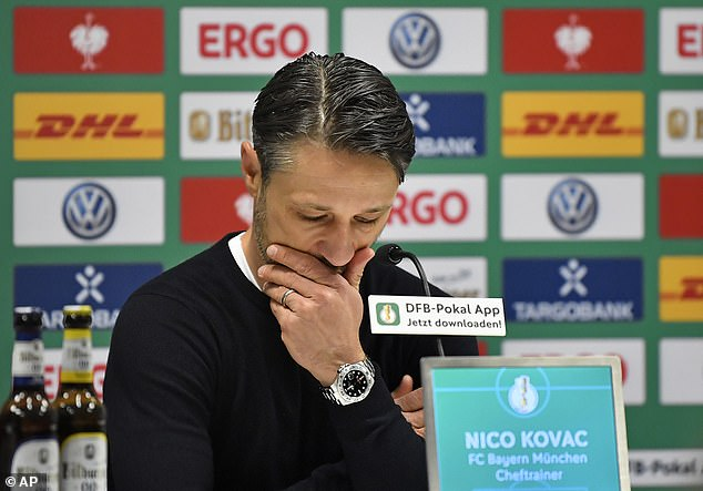 Niko Kovac is under attack after a difficult first four months in the Allianz Arena in Bavaria
