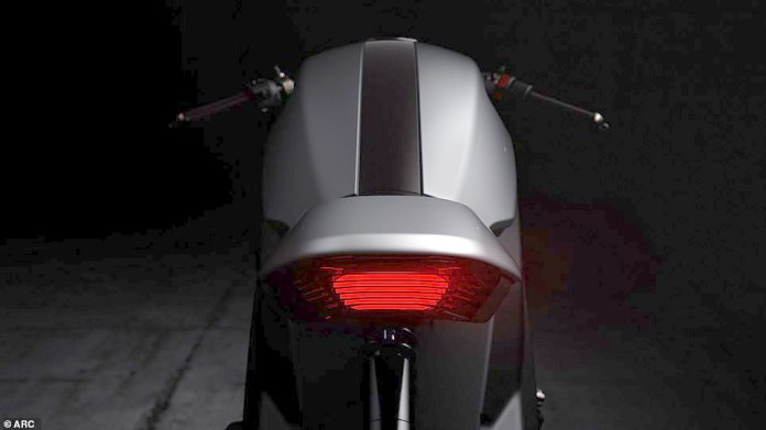 Much of the bike is made of carbon fiber or lightweight carbon composites to reduce the bulky weight of the powerhouse