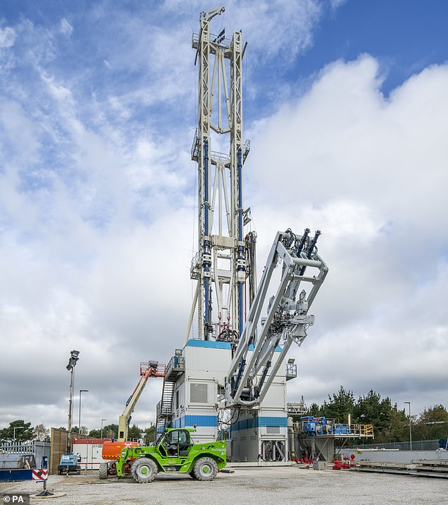 Drilling will commence this week at what is possibly the UK's first geothermal power plant in Cornwall (pictured). Near St Day, two holes will be drilled through granite boulders, the deepest of which will be 4.5km