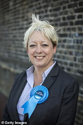 Health Minister Jackie Doyle-Price (image file) will direct national efforts to improve suicide prevention, despite her previous comments on Beachy Head