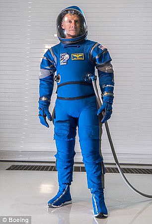 In January, Boeing presented its own version of a spacesuit