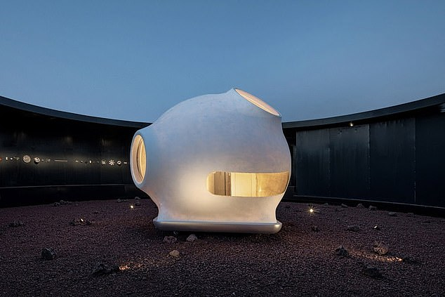 A Chinese architectural office has unveiled designs for a tiny shelter that could one day house astronauts on Mars. The MARS case is a minimalist structure with one