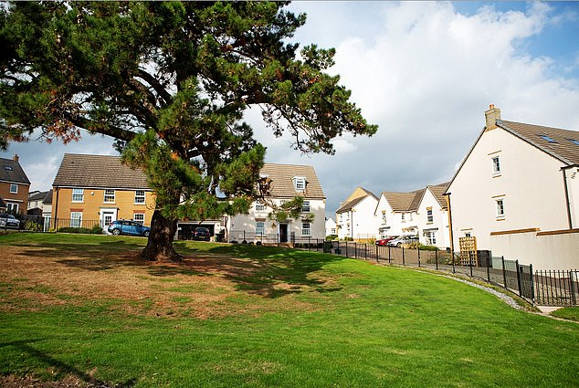 The three-bedroom detached home was only a couple of years old and was worth £ 269,000