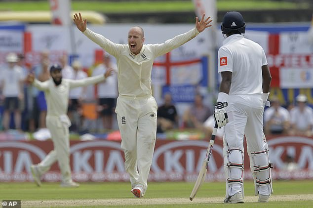 Leach kept it tight with his left arm arm all day while England left Sri Lanka out of control for 203